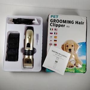 Pet grooming hair kit